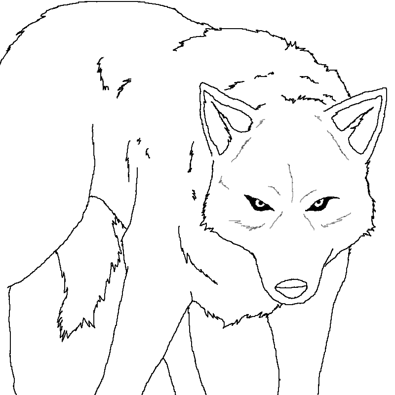 wolf rain coloring pages - photo#22