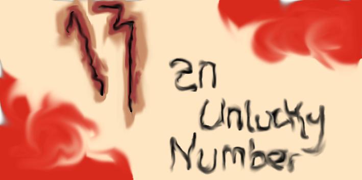unlucky 13 13 an unlucky number art by