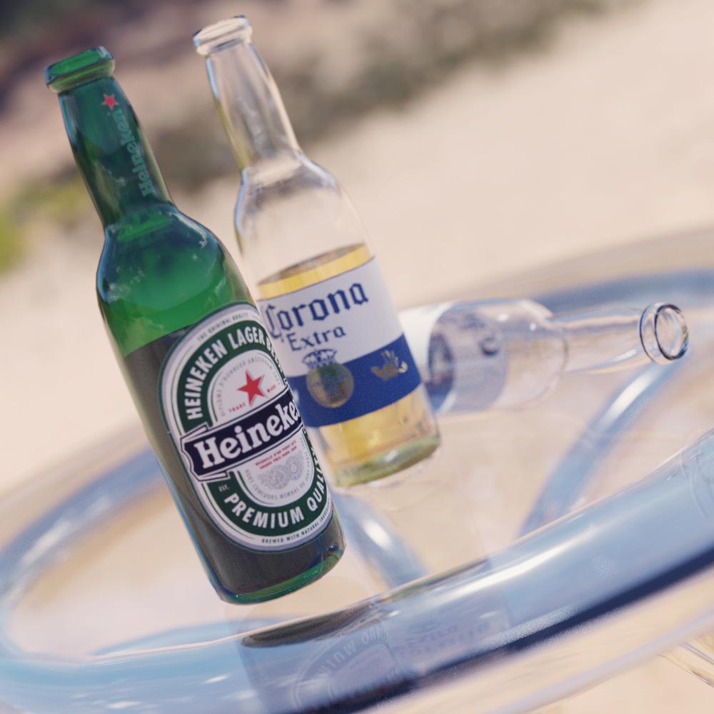 Beer Bottle for Daz Studio
