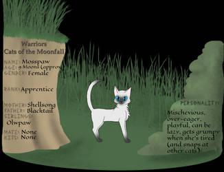 Mosspaw app. for CatsOfTheMoonfall
