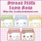Sweet Milk Icon Sets