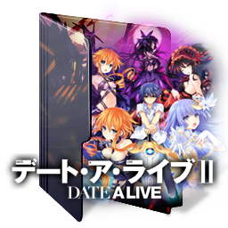 Date A Live 2 Folder Icon By Kiddblaster On Deviantart