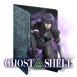 Ghost In The Shell Folder Icon By Kiddblaster On Deviantart