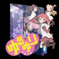 YuruYuri: Happy Go Lily Folder Icon by Kiddblaster