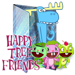 Happy Tree Friends Folder Icon By Kiddblaster On Deviantart