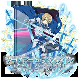 Sword Art Online - Alicization V2 Folder Icon by Kiddblaster