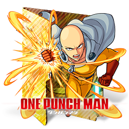 One Punch Man 2 Folder Icon By Kiddblaster On Deviantart