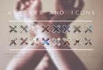 16 Avatars and Icons