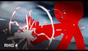 Red Blade Vs Triton by MarkXD