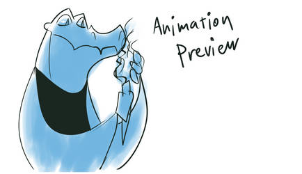 Animation - Croc and a Torch