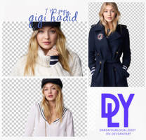 4 |GIGI HADID | PNG PACK by dariayourlocalidiot