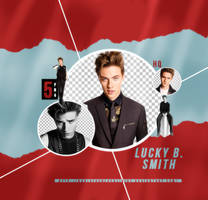 11 |LUCKY BLUE SMITH |PNG PACK by dariayourlocalidiot