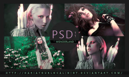 11 | PSD COLOURING | WONDERLAND by dariayourlocalidiot