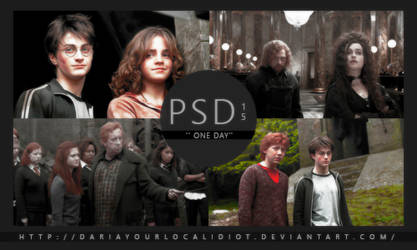 15 | PSD COLOURING | ONE DAY by dariayourlocalidiot