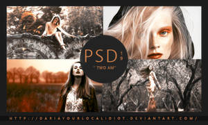 19 | PSD COLOURING | TWO AM by dariayourlocalidiot