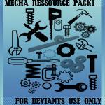 mecha stock by ravenziel