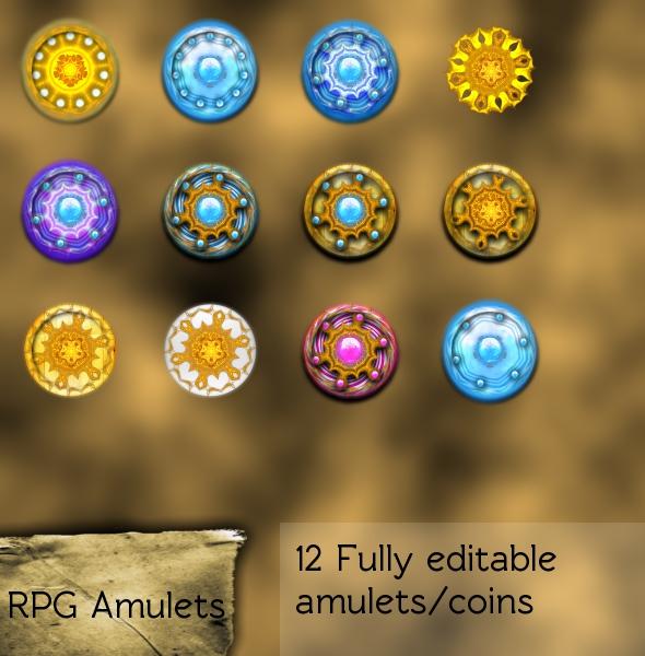 RPG Coins Set