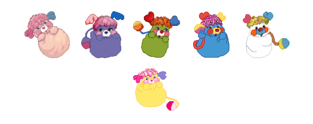 Popples pack 03 by hprune