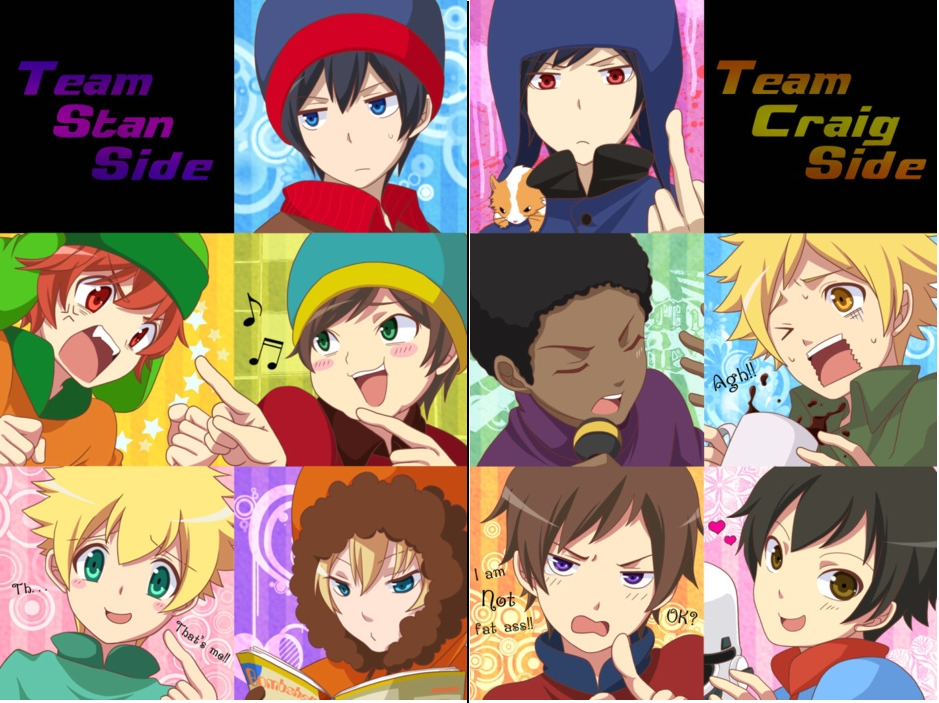 South Park Anime Kenny X Kyle Stick_of_truth_x_reader_ ...