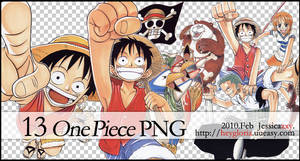 13 One Piece  PNG