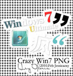 crazy win7 PNG