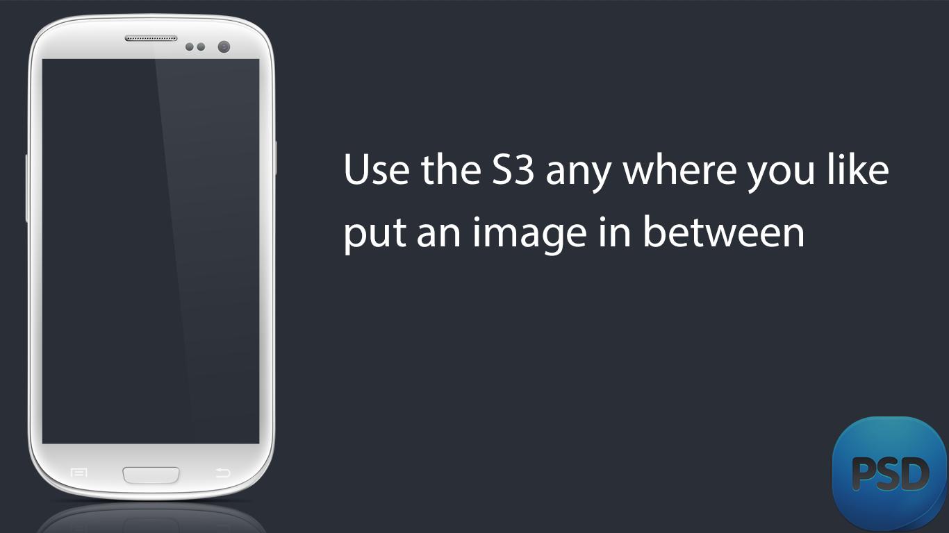 Useful Samsung Galaxy S3 PSD