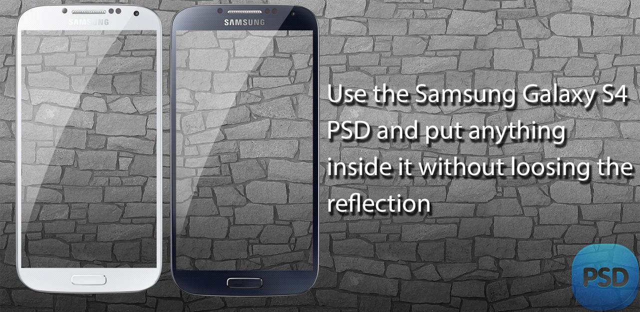 Useful Samsung Galaxy S4 PSD by wahashmi