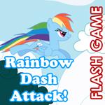 Rainbow Dash Attack by PerianArdocyl