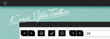 KARAS styler toolbar by jstyle23