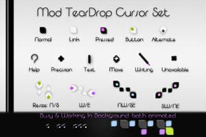 Mod TearDrop -Cursor FX- by kittenbella