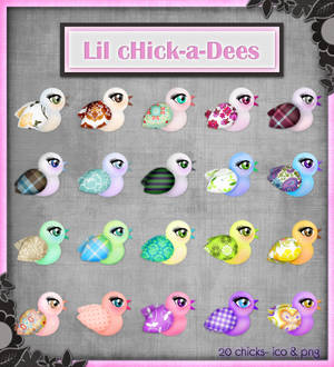 Lil cHick-a-Dees Icons