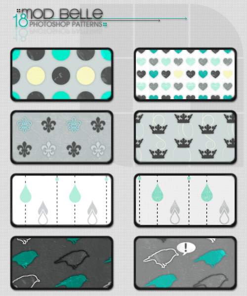 MoD BeLLe Pattern Set by kittenbella