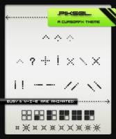 .Piksel. A CursorFX Theme by kittenbella