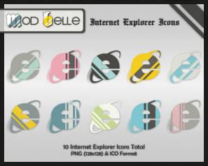 ModBelle IntrnetExplorer Icons
