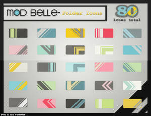 ModBelle Folder Icons