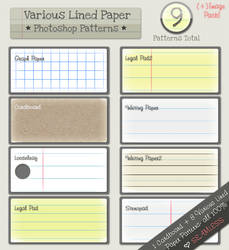 Lined Paper Patterns