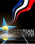 Mesopotamian-Assyrian flag animated