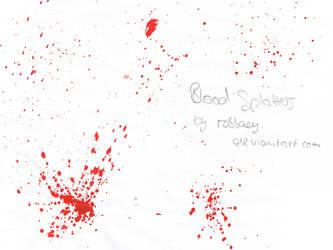 splatterbrushes I by robbaey
