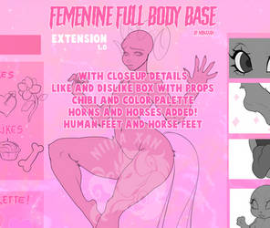Femenine Full body EXTENSION P2U