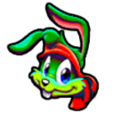 Jazz Jackrabbit 3D Custom Icon by thedoctor45