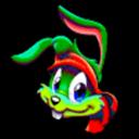 Jazz Jackrabbit 3D Custom Icon by thedoctor45