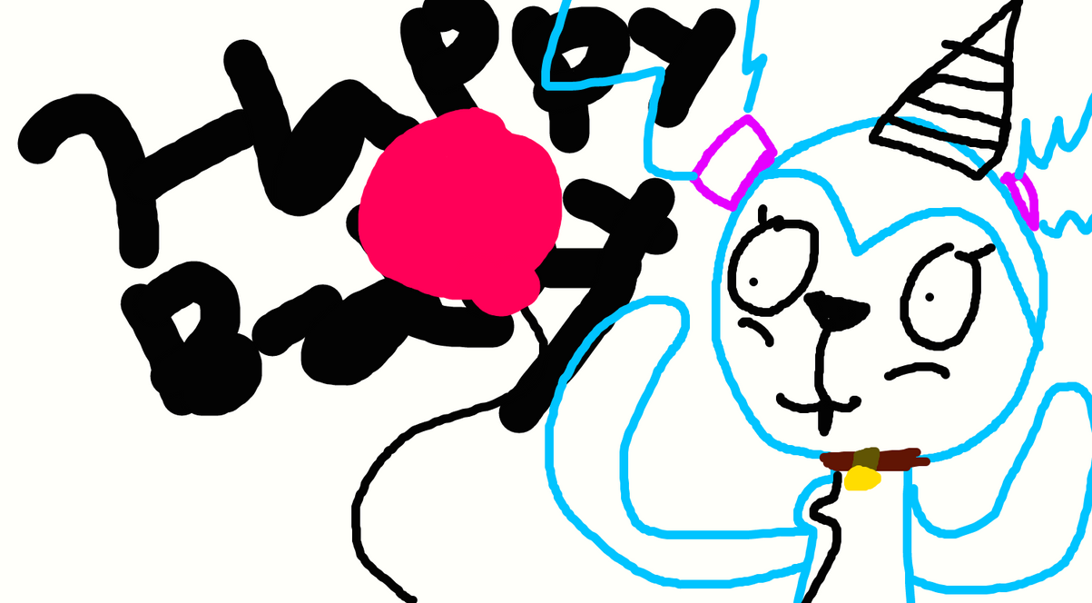 Happy birthday to me :,) by lionkingrock