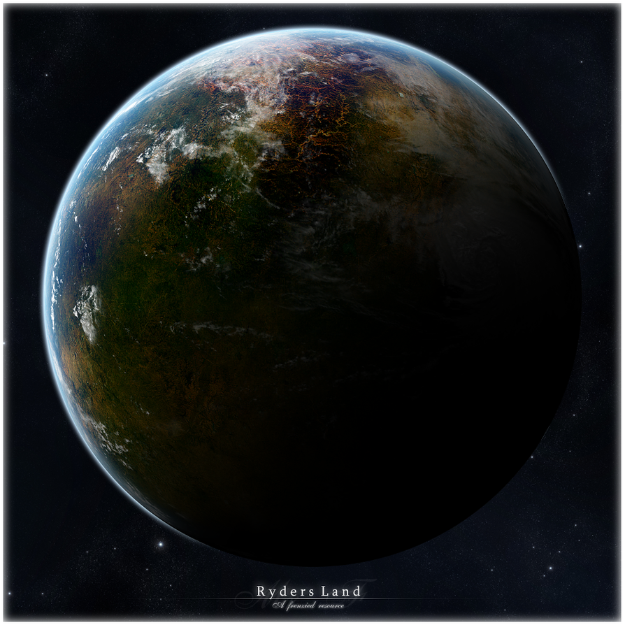 Ryders Land - Planet resource by Mr-Frenzy