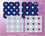 GAD - PATTERN LOVE - Commercial Use allowed by GlamArtDreams