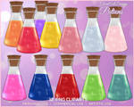 GAD - MAGIC POTIONS - Commercial Use by GlamArtDreams