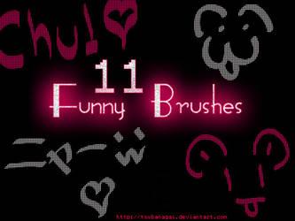 Funny Brushes by tsubanagai