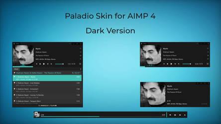 Paladio Dark skin for AIMP by Qualima