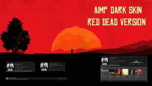 AIMP Dark Skin - Red Dead Version