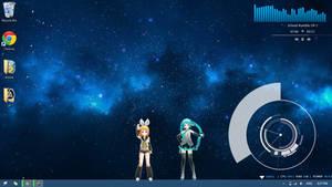 Dancing Vocaloid 1.0 [Rainmeter]
