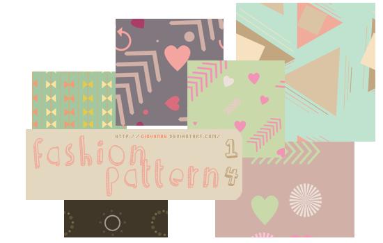 Fashion pattern by Giovyn86